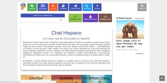 Chat gratis sin registro: charla con amigos en España y Latinoamérica