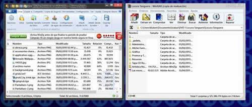 Comparativa entre Winzip y WinRAR. Cual es el mejor?