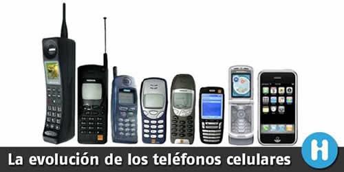 Evolución de los teléfonos celulares