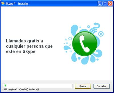 Instalar Skype paso 4