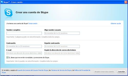 Instalar Skype paso 5