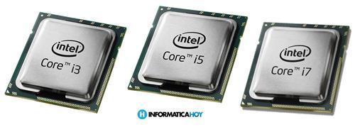 Nomenclatura de los procesadores Intel iX