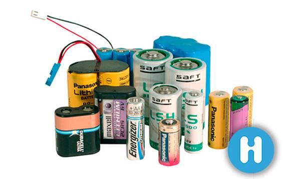 Pilas y baterías de litio