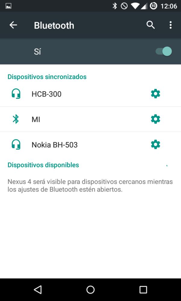 Resultado de imagen para conectar bluetooth android