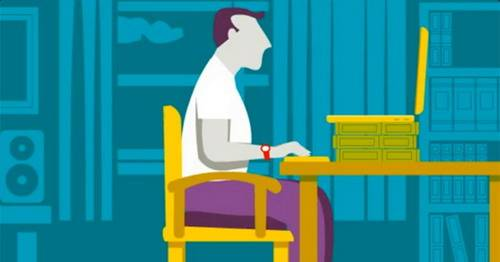 Las posturas correctas para usar las computadoras portatiles